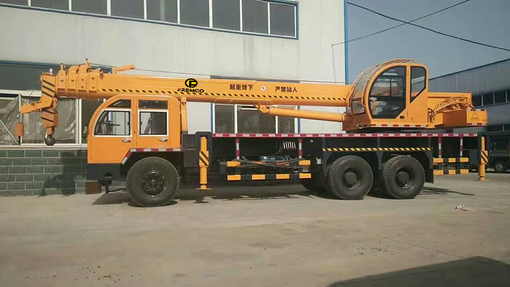 home made chassis crane