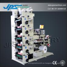 Máquina de impresión de película de rollo Flexo de alta velocidad