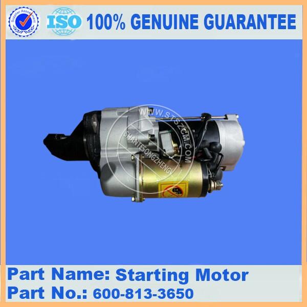 6d105 1z Starting Motor Ass Y 600 813 3650