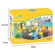 New Arrival for Intelligence Blocks Children's Funny Building Blocks with Construction Site export to Armenia Manufacturer