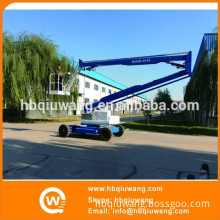 Self propelled trailer mounted cherry pickers