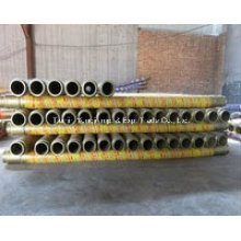 High Quality Trailer Pump Hose 4 Layers Steel Wires