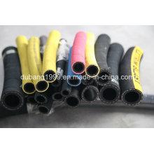 Mangueira de borracha hidráulica resistente ao calor do fornecedor de China / mangueira de borracha espiral prendida de aço