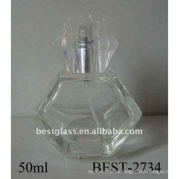 Botella de perfume del aerosol de cristal del molde 50ml