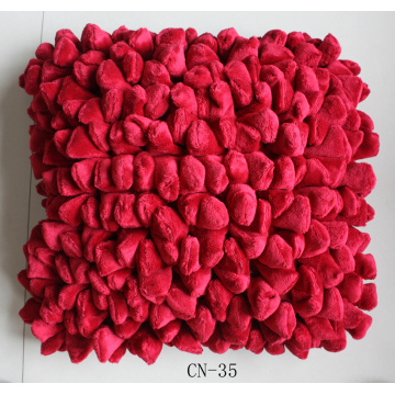 Polyester Beautiful Cushion Dengan Solid Color