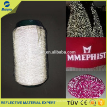 reflective yarn for knitting, embroidery