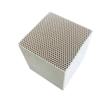 Factory Price Ceramic cube Honeycomb Filter Monolith for Catalyst Ceramic