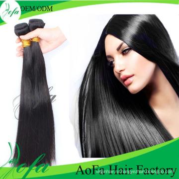 Дешевые Девственницы Бразильские Виргинские Волосы Прямые Выдвижения Человеческих Волос