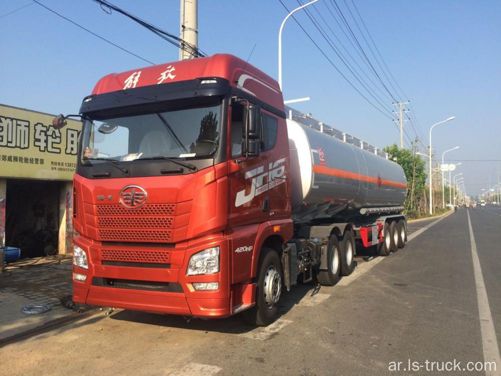 FAW Tracror Truck 6x4 420hp، ZF 16 Speed ​​Transmission