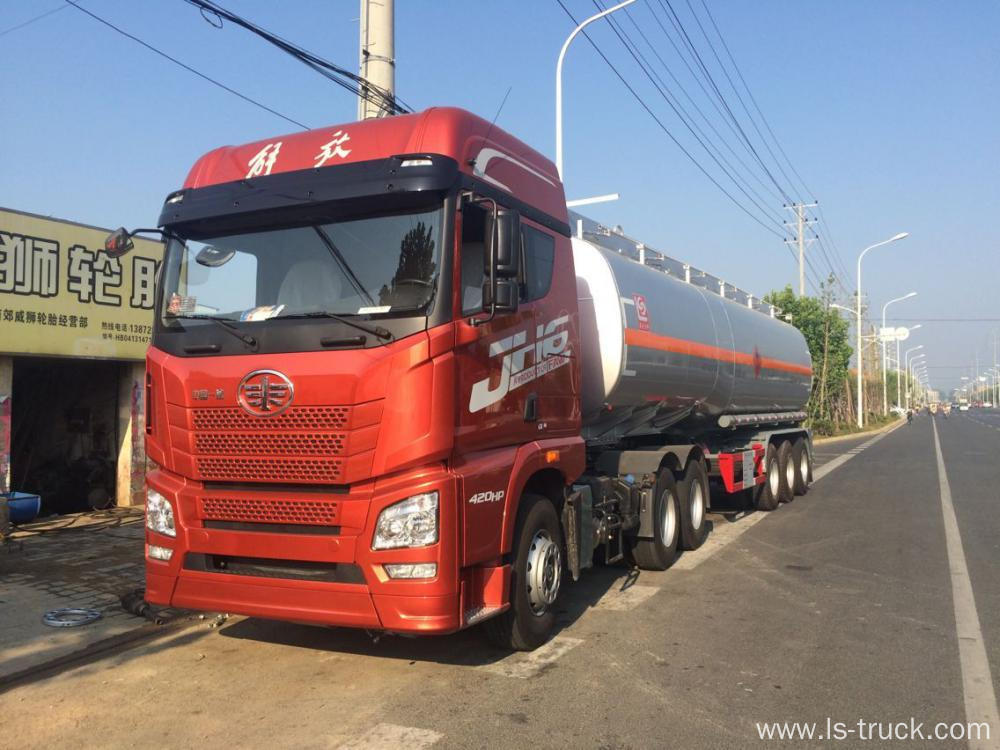 FAW Tracror Truck 6x4 420hp, ZF 16 Speed Transmission