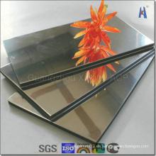 Forme el espejo del panel compuesto de aluminio con el precio más barato