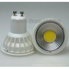 Светодиодный прожектор COB GU10 5W
