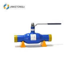 JKTL 2017 de bonne qualité joints d'étanchéité à l'huile à fond creux étendre le robinet à tournant sphérique à souder bout à bout
