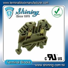 TF-2.5 UL Apporved 17A 2,5mm Entrelec Durchführungs-Klemmenblock