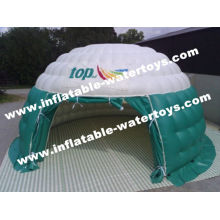 Dome Airtight Inflatable Air Tent Wind Resistant For International Aid
