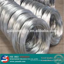 low price electro galvanized iron wire (manufacture)