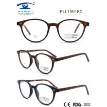2015 Popular forma redonda Cp Eyewear marco (PL1164)