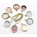 Enamel 316L Stainless Steel Fashion Locket Pendant for Necklace Jewellery