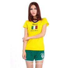 2016 New Design Advertising Women Sport T Shirt