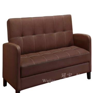 100% tissu de cuir de daim de polyester pour le sofa à la maison