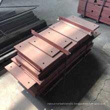 Chromium Carbide Vertical Mill Hardfacing Overlay Liner