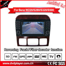 Android GPS Navigation Tracker pour Mercedes Benz S-Class Car DVD Player Tracking Device