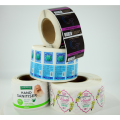 Custom Printing Label Roll Cosmetic Waterproof Stickers
