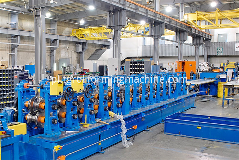 Steel Silo Stiffener Panel Forming Machine