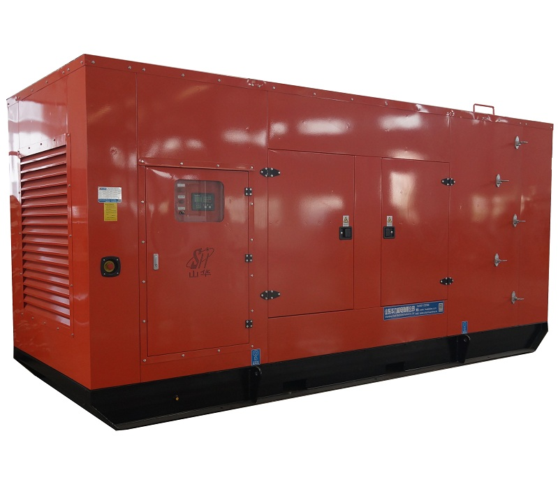 500KW CUMMINS mute test generator set