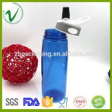 Wholesale recycling high-quality PCTG customized plastic sports bottle with straw