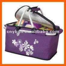 carrinho de compras dobrável com bolsa térmica