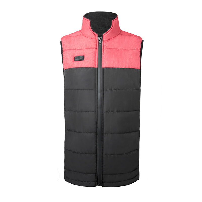 Men's Polyester Woven Fabric Vest