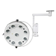 LAMPE D'EXPLOITATION de l'hôpital LED de matériel médical de haute qualité avec 9 réflecteurs