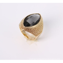 Fashion Jewelry Ring with Glass Stone
