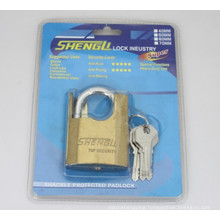 Gold Plated Shackle Protected Padlock (GSP)