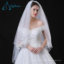 Cathedral Lace Appliques Tulle Bridal Flower Wedding Veils