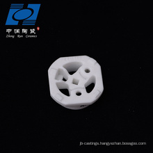 Al2o3 ceramic part ceramic electrical insulators for heaters