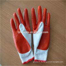 FURUNDA hochwertige Gummi-beschichtete Arbeits-Baumwollhandschuhe