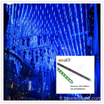 Wholesale disco dmx 3d tube 1 m bâton de long