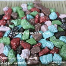 Красочный шоколадный шоколад с хрустящим сахаром