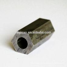 """Forma Hexagonal Canto Sharp / Raio """"R"""" Tubos e tubos de aço sem costura"""