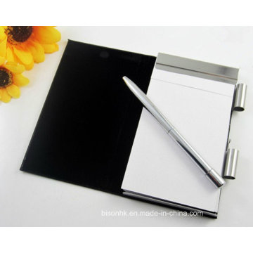 High Quality Metal Scratch Pad Holder with Pen