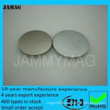 neodymium magnet 22mm round
