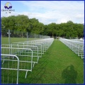 High quality temporary crowd control barriers( factory ISO 9001 certificate )