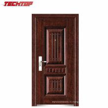 Portes de sécurité de haute qualité TPS-122, fabricant de portes en acier