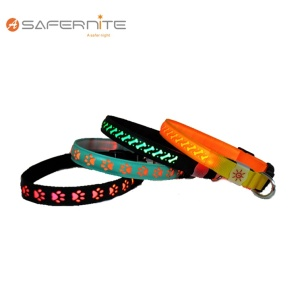 Usb Wiederaufladen Led Light Night Flashing Hundehalsband