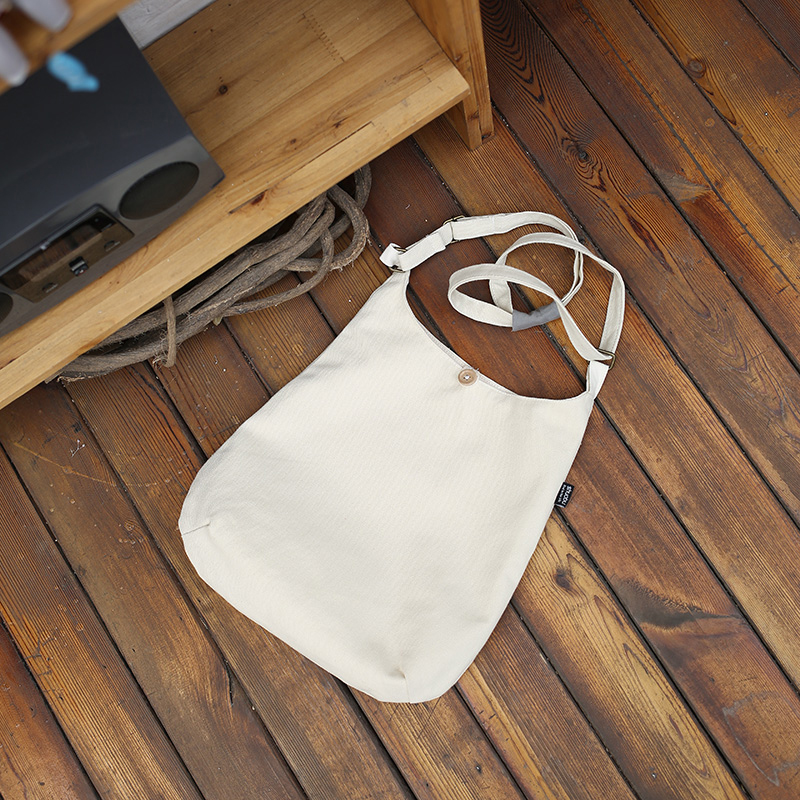 Ms. personalized blank canvas bag