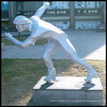 Рисунок из нержавеющей стали скульптуры