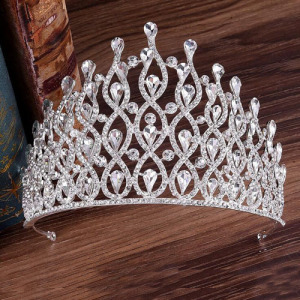 Gorgeous Pageant Crowns With Blue Diamonds