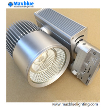 20W 30W 35W 45W Silver Furnish European Standard LED Track Spot Lighting